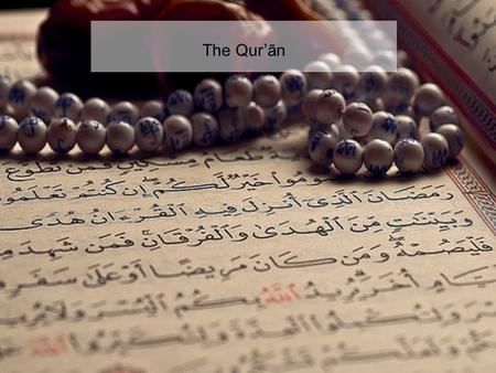 The Qur'ān. In the name of Allah, the Beneficent,the Merciful Read: In the name of thy Lord who createth Createth man from a clot. Read: And thy Lord.