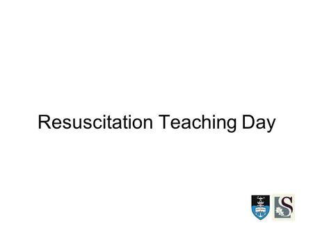 Resuscitation Teaching Day. Documentation Experience looking through notes at C15 - Nil written - No diagnosis/differential/plan - Chest pain with no.