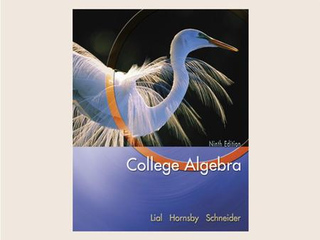 Copyright © 2004 Pearson Education, Inc.. Chapter 7 Further Topics in Algebra.