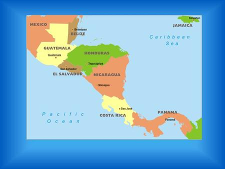 Central America. Physical Mountains – Active volcanoes and part Central American Plateau Lowlands – Rain forests on Eastern side Coastal Plain – Pacific.