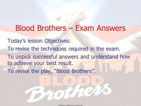 blood brothers essay help com blood brothers essay