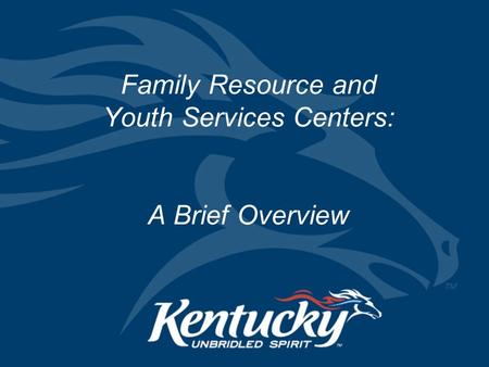 Family Resource and Youth Services Centers: A Brief Overview.