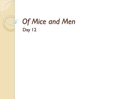 how do you respond to the presentation of curleys wife in of mice and men essay Of mice and men by john steinbeck - an extensive collection of teaching   download document download crooks character study in pdf format   download themes in the novel – essay planning in word format download   activities focusing on the presentation of curley's wife  how would each  character reply.