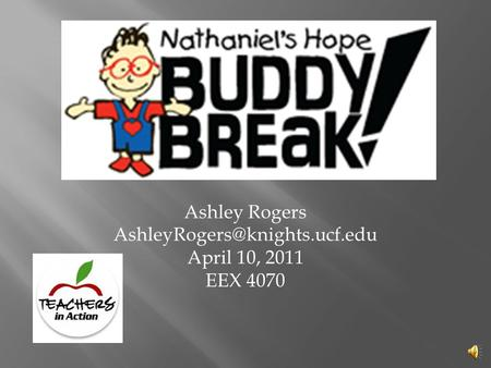 Ashley Rogers April 10, 2011 EEX 4070.