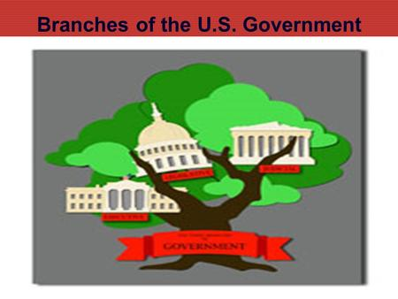 Branches of the U.S. Government. Three Branches Three branches of government ed101.bu.edu.
