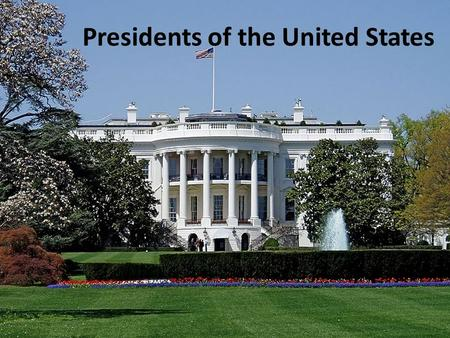 Presidents of the United States. Under the U.S. Constitution, the President of the United States is the head of state of the United States. As chief of.