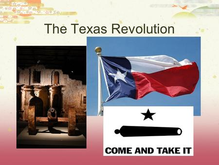 The Texas Revolution. Spanish Texas  The Spanish had been in the Americas since Columbus in 1492.  Spain owned a large part of North America, including.
