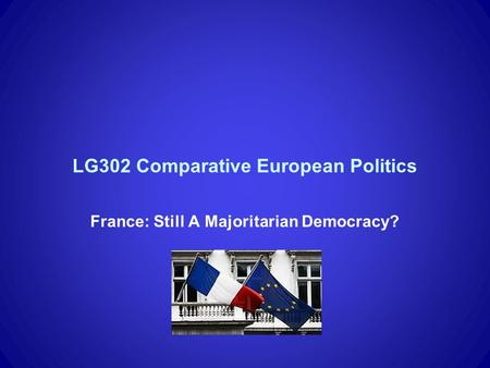 comparative european politics Buy european politics: a comparative introduction (comparative government  and politics) 2nd edition by dr tim bale (isbn: 9780230573796) from amazon's .