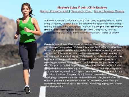 Kinetesis Spine & Joint Clinic Reviews Bedford Physiotherapist Kinetesis Spine & Joint Clinic Reviews Bedford Physiotherapist | Chiropractic Clinic | Bedford.