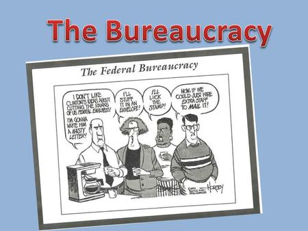 Bureaucracy: A systematic structure that handles the everyday business of an organization.