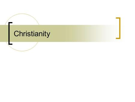 Christianity. Christianity briefly Christianity is the world's biggest religion, with about 2.2 billion followers worldwide. It is based on the teachings.