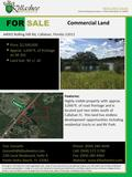 Commercial Land 44001 Rolling Hill Rd, Callahan, Florida 32011 Although all information furnished regarding for sale, rental or financing is from sources.