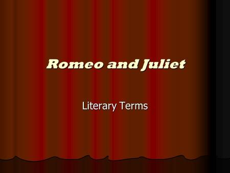 How Does Shakespeare Present Young Love In Romeo And Juliet? Essay