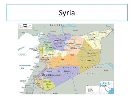 Syria. Independence 1946, French Mandate number of military coups and coup attempts shook the country in the period 1949–1971. 1949 coup d'état by Col.