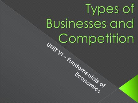 One person owns and runs the business  Most common type of business in the U.S. ADVANTAGESDISADVANTAGES.