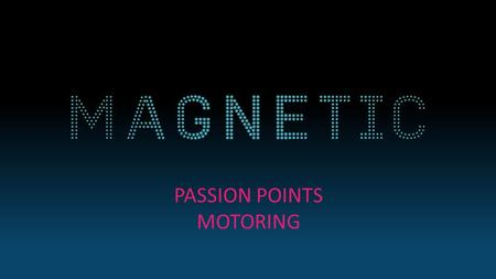 PASSION POINTS MOTORING. New research from Dennis Publishing and buyacar.co.ukhas revealed that people's attitudes and behavior to buying cars is changing.