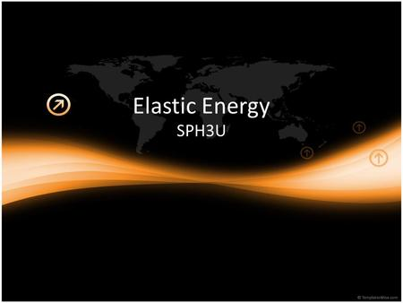 Elastic Energy SPH3U. Hooke's Law A mass at the end of a spring will displace the spring to a certain displacement (x). The restoring force acts in springs.