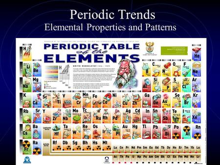 Periodic Trends Elemental Properties and Patterns.