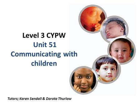 cypw 3 unit 051 3 what units are we doing mp (mandatory pathway) - units 22, 24 – 30, 51 –  54 eymp (early years mandatory pathway) – units 64 – 68 optional units to be.