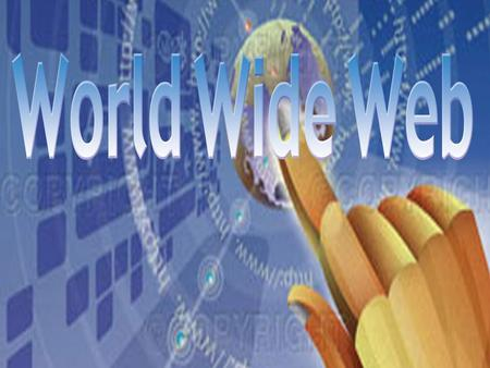World Wide Web. The World Wide Web is a system of interlinked hypertext documents accessed via the Internet The World Wide Web is a system of interlinked.