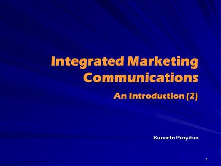 phd thesis integrated marketing communication Suggested phds in marketing the haslam college of business' phd program in marketing aims to prepare students for how to design and defend a phd thesis.