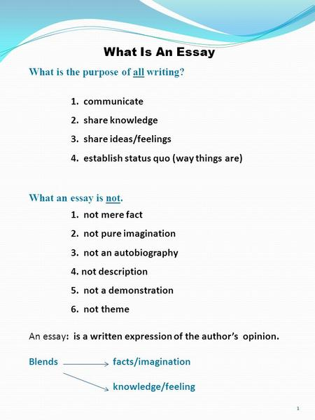 exploratory essay definition No idea how to write an exploratory essay check out an exploratory essay outline and exploratory essay examples for more ideas, browse 50 exploratory essay topics.
