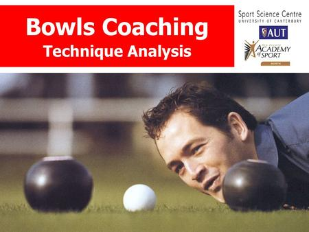 Bowls Coaching Technique Analysis