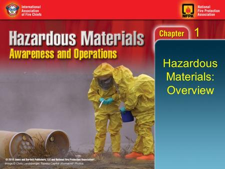 Hazardous Materials: Overview 1. Objectives (1 of 2) Define a hazardous material. Define weapons of mass destruction (WMD). Describe the levels of hazardous.