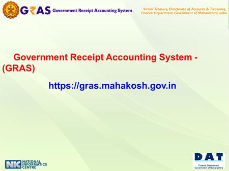 Government Receipt Accounting System - (GRAS)