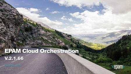 EPAM Cloud Orchestration