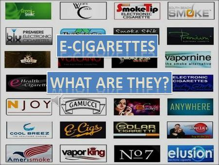 Definition An E-cigarette is an electronic cigarette or a personal Vaporizer (PV), which contains a nicotine based liquid (e-juice) that is vaporized.
