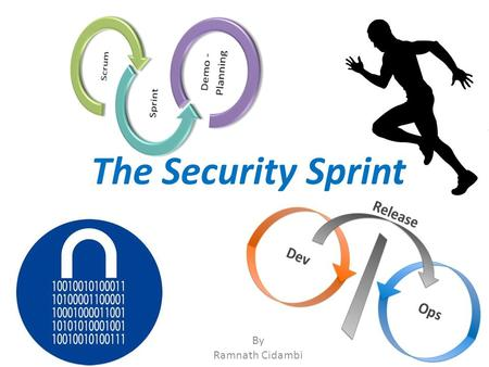 "The Security Sprint By Ramnath Cidambi. Agile and DevOps DevOps is a ""recent"" concept though the building blocks have existed for a while – The understanding."
