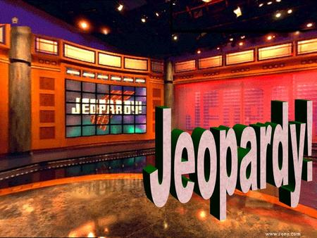 Jeopardy 100 200 100 200 300 400 500 300 400 500 100 200 300 400 500 100 200 300 400 500 100 200 300 400 500 WestGilded AgeMiscellaneousVocabulary Terms.