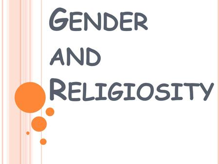 Gender differences in religious belief