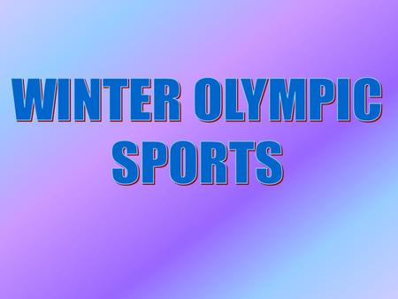 1.How often do the Winter Olympic Games take place? 2.Where and when were the first Olympics? 3.What were the original Olympic sports? 4.Why and When.
