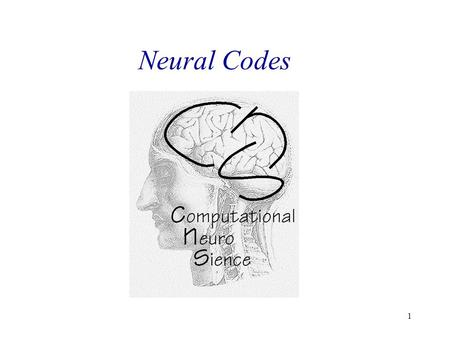 1 Neural Codes. 2 Neuronal Codes – Action potentials as the elementary units voltage clamp from a brain cell of a fly.