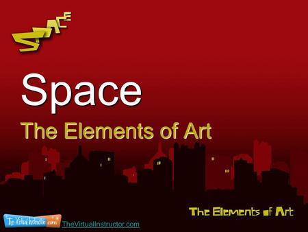 Space The Elements of Art TheVirtualInstructor.com.