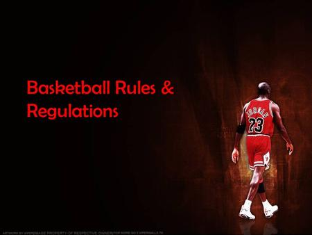 Basketball Rules & Regulations. Guess where the team are from…