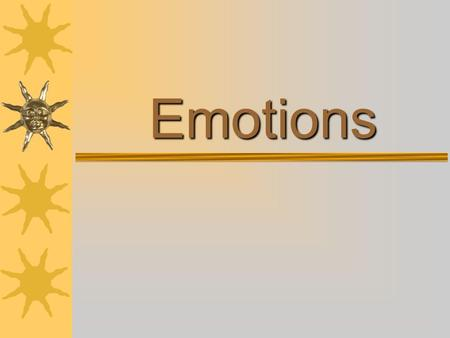 Emotions. Agenda 1. Bell Ringer: How can motivation be tied to emotion? (5) 2. Intro to Emotion, various theories (15) 3. How to tell if someone is lying…