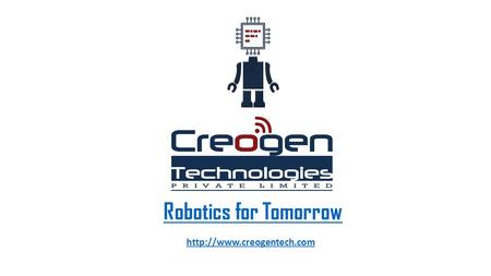 Robotics for Tomorrow