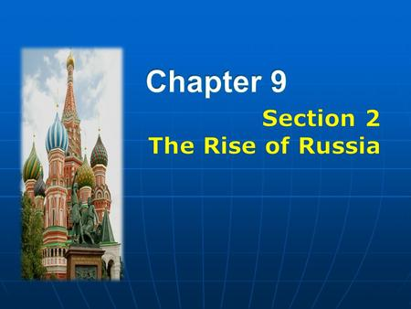 Russia develops differently from Western Europe because Russia develops differently from Western Europe because Three Regions Three Regions 1)Northern.