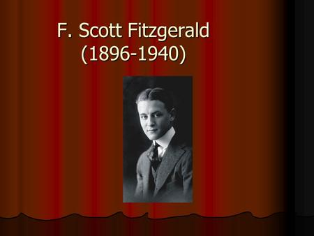 f scott fitzgerald writing style essay Everything you need to know about the writing style of f scott fitzgerald's winter dreams, written by experts with you in mind.