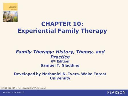 CHAPTER 10: Experiential Family Therapy