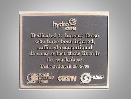HSW Policy We the Members of the Canadian Union of Skilled Workers are committed to maintaining a safe workplace for all of our Members. We recognize.