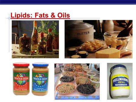 Regents Biology Lipids: Fats & Oils Regents Biology Lipids Concentrated energy molecules.