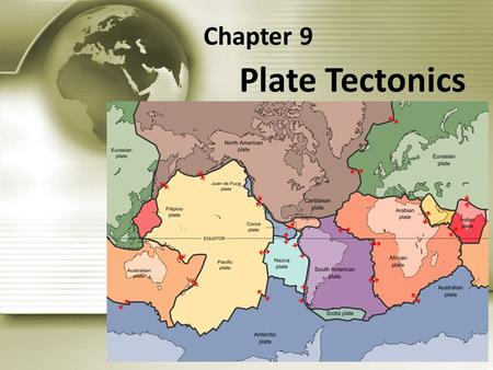 Plate Tectonics Chapter 9. Section 9.2 Plate Tectonics.