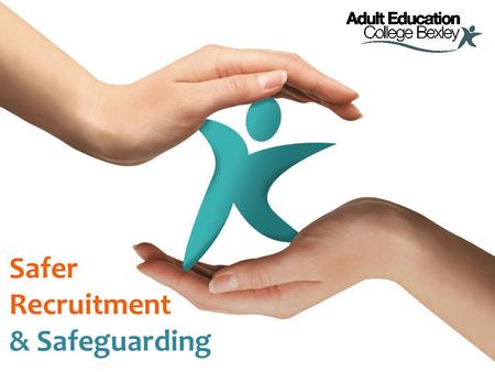 "Safer Recruitment & Safeguarding. Bichard Report 2004 ""For those agencies whose job it is to protect children and vulnerable people, the harsh reality."