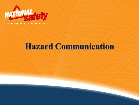 Hazard Communication. 2Introduction   About 32 million workers work with and are potentially exposed to one or more chemical hazards   There are approximately.