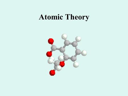 Atomic Theory. Atomic Theories Timeline NameDemocri tus DaltonThomson Etc. Time Frame Key Points Candy Model Can you think of a candy that would be a.