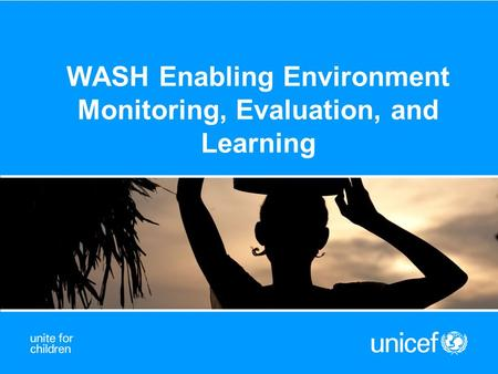 WASH Enabling Environment Monitoring, Evaluation, and Learning.